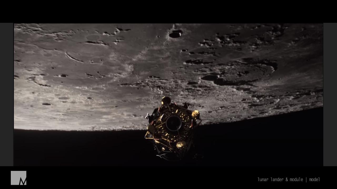 For All Mankind - Lunar Lander/ Module Model
